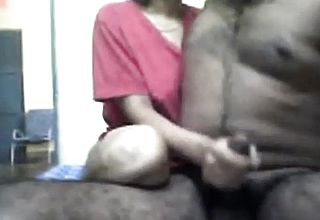 Hot sexy indian couple enjoy sex on webcam